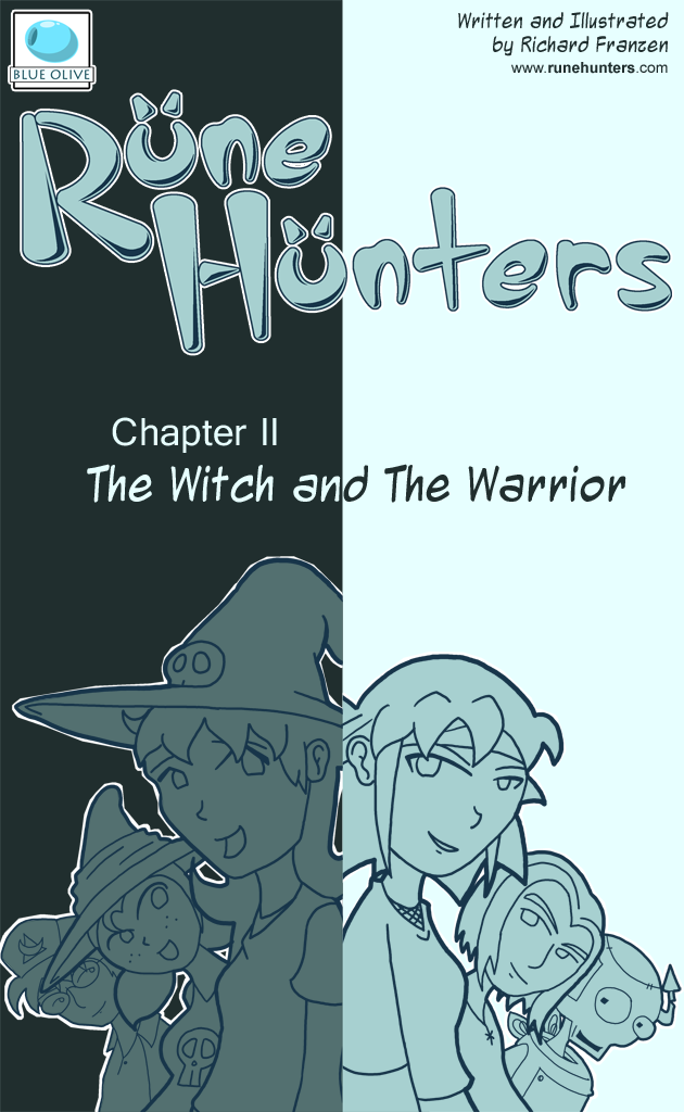 Rune Hunters &#8211; Chapter 2 Cover