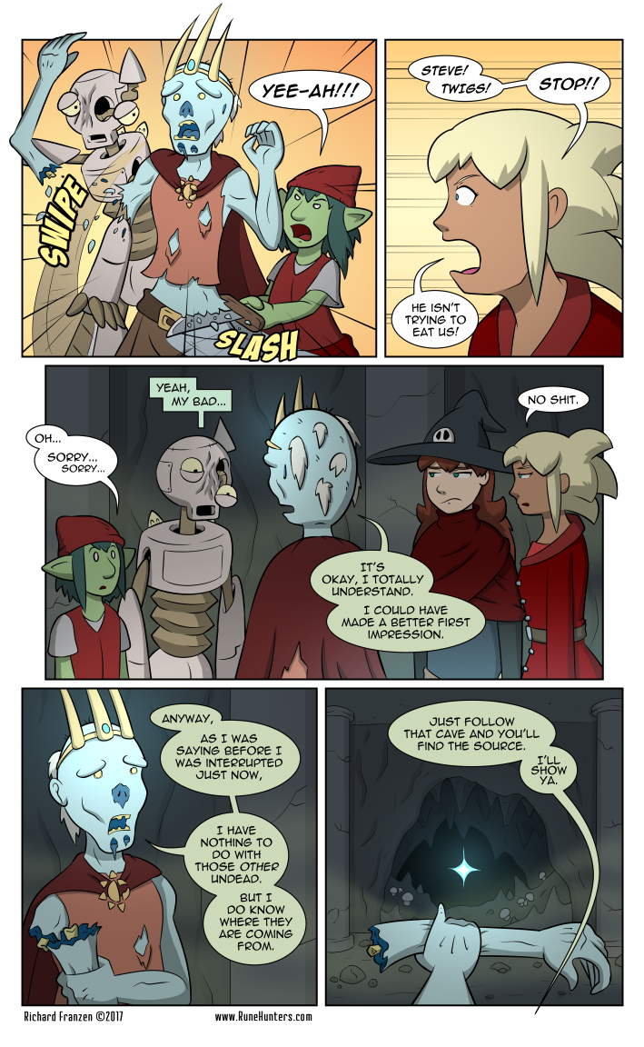 Rune Hunters – Chapter 15 Page 10