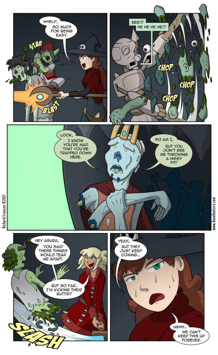 Rune Hunters – Chapter 15 Page 13