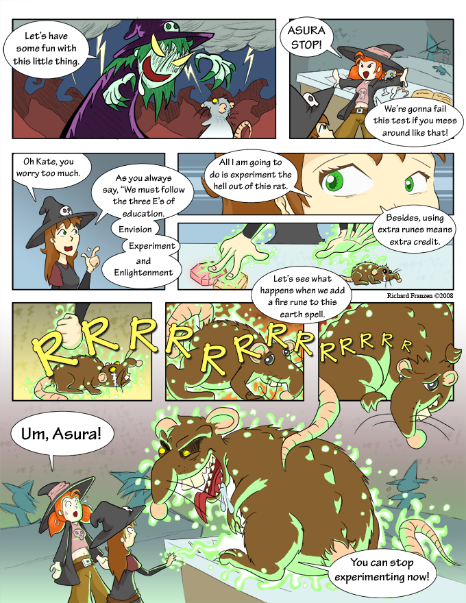 Rune Hunters – Chapter 1 Page 3