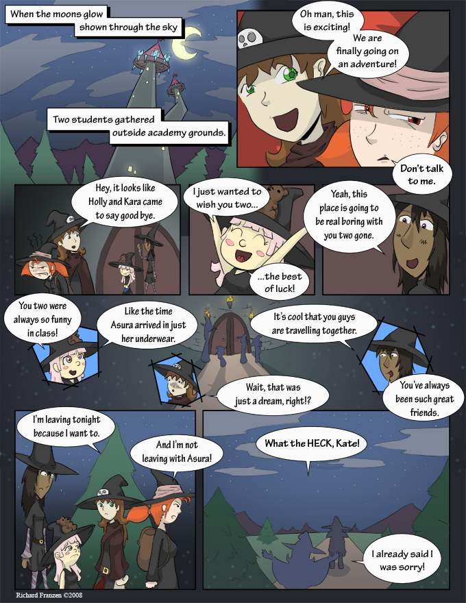 Rune Hunters – Chapter 1 Page 6