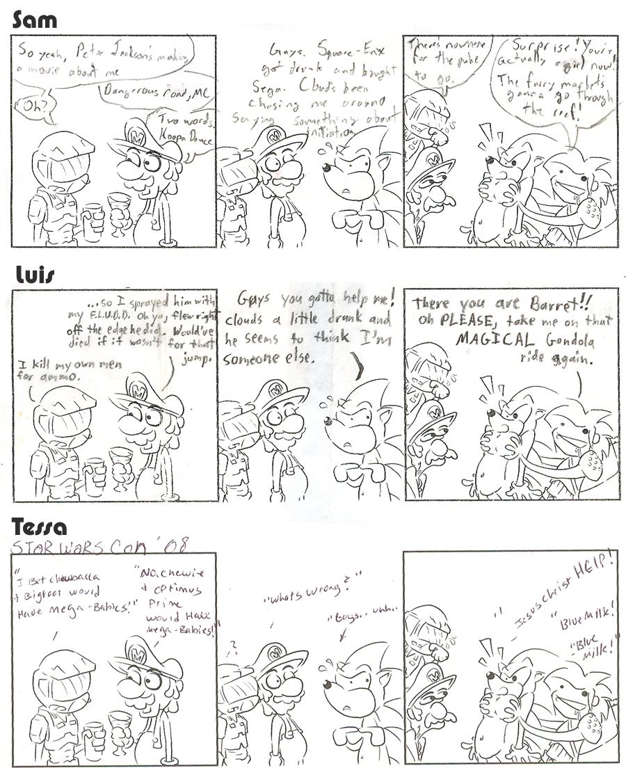 BRU Con Comic Contest 2008 – Comic 1