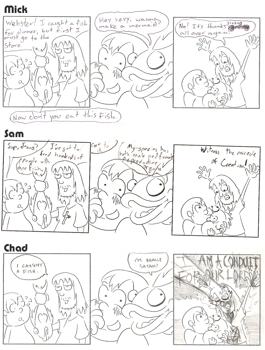 BRU Con Comic Contest 2008 – Comic 2