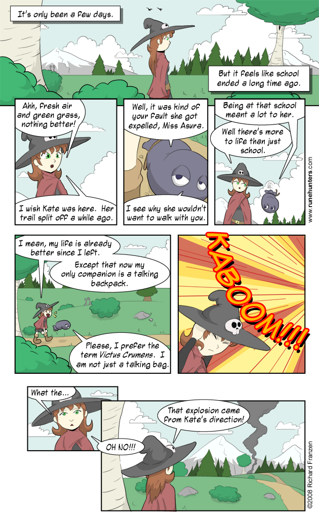 Rune Hunters – Chapter 2 Page 1