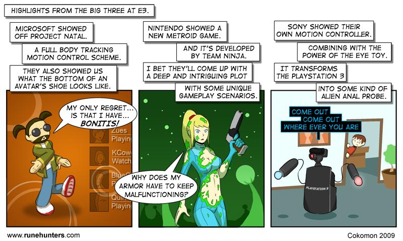 A Comic About E3