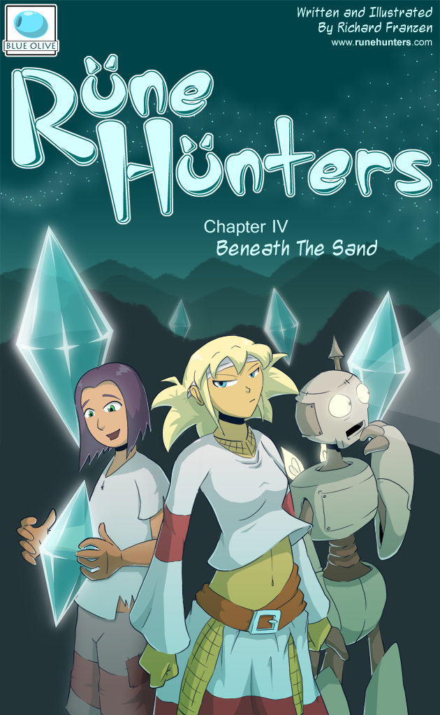 Rune Hunters – Chapter 4 Cover