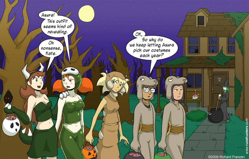A Rune Hunters Halloween – 2009