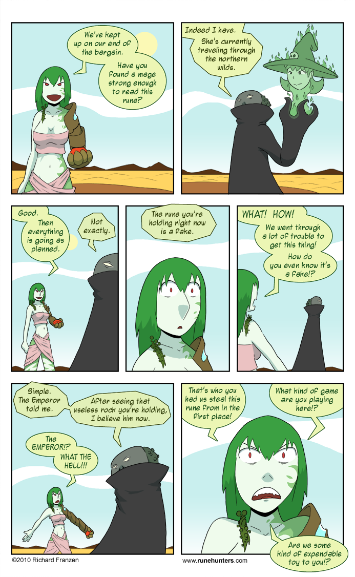 Rune Hunters – Chapter 5 Page 12
