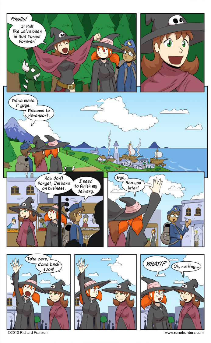 Rune Hunters – Chapter 6 Page 1