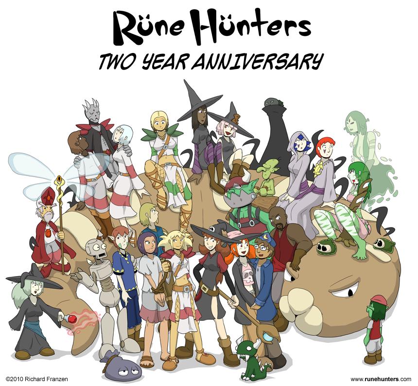 Rune Hunters – 2nd Year Anniversary