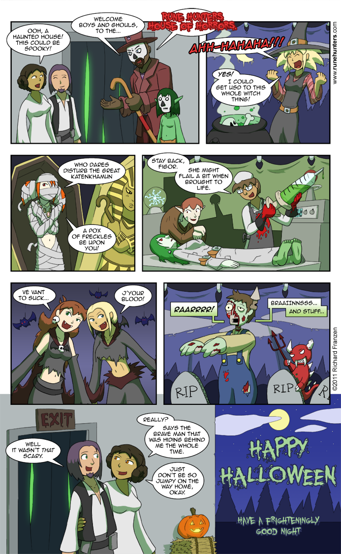 A Rune Hunters Halloween – 2011