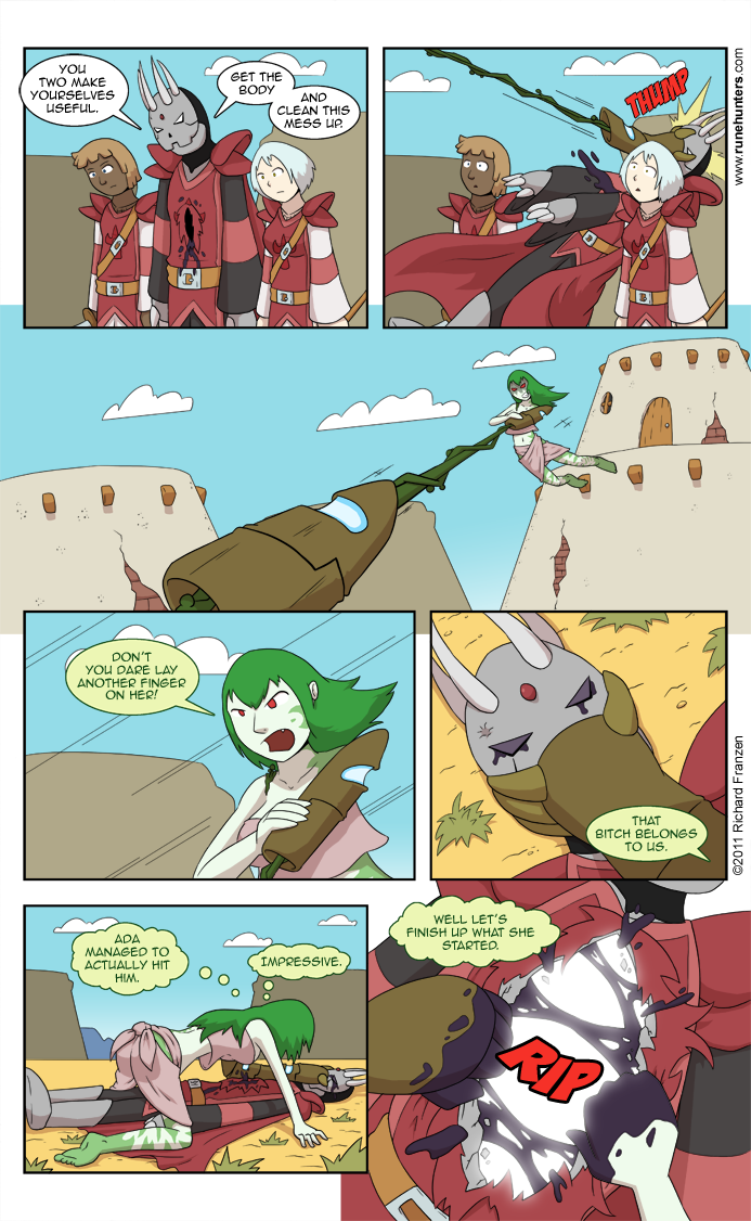 Rune Hunters – Chapter 9 Page 11