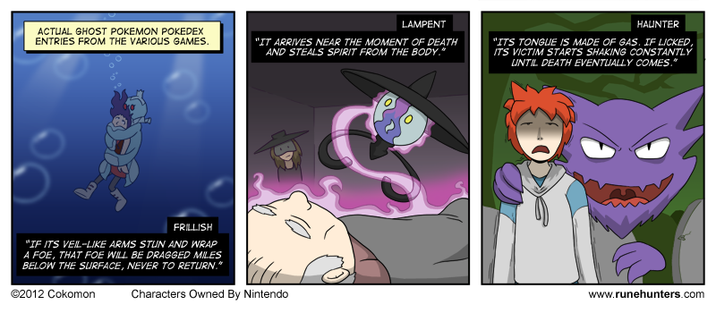 Ghost Pokemon Are Horrifying – Part 2