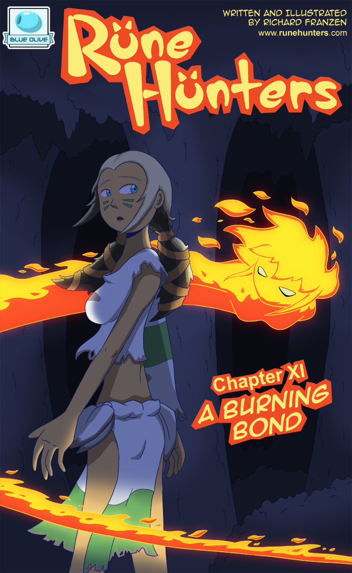 Rune Hunters – Chapter 11 Cover