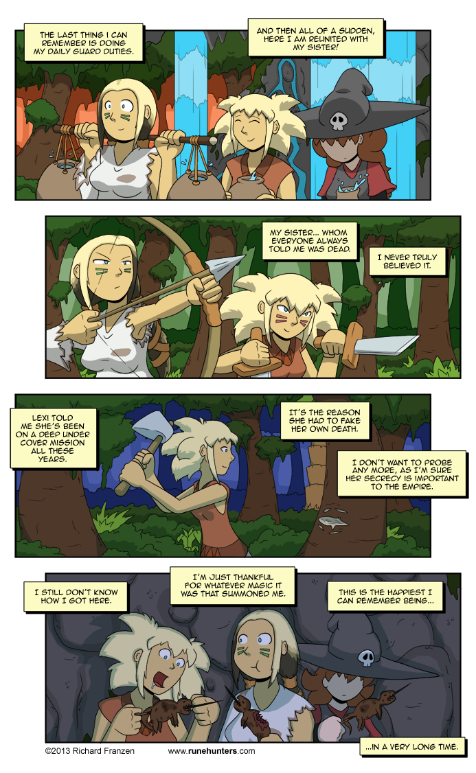 Rune Hunters – Chapter 11 Page 8