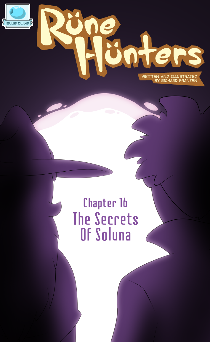 Rune Hunters – Chapter 16 Cover