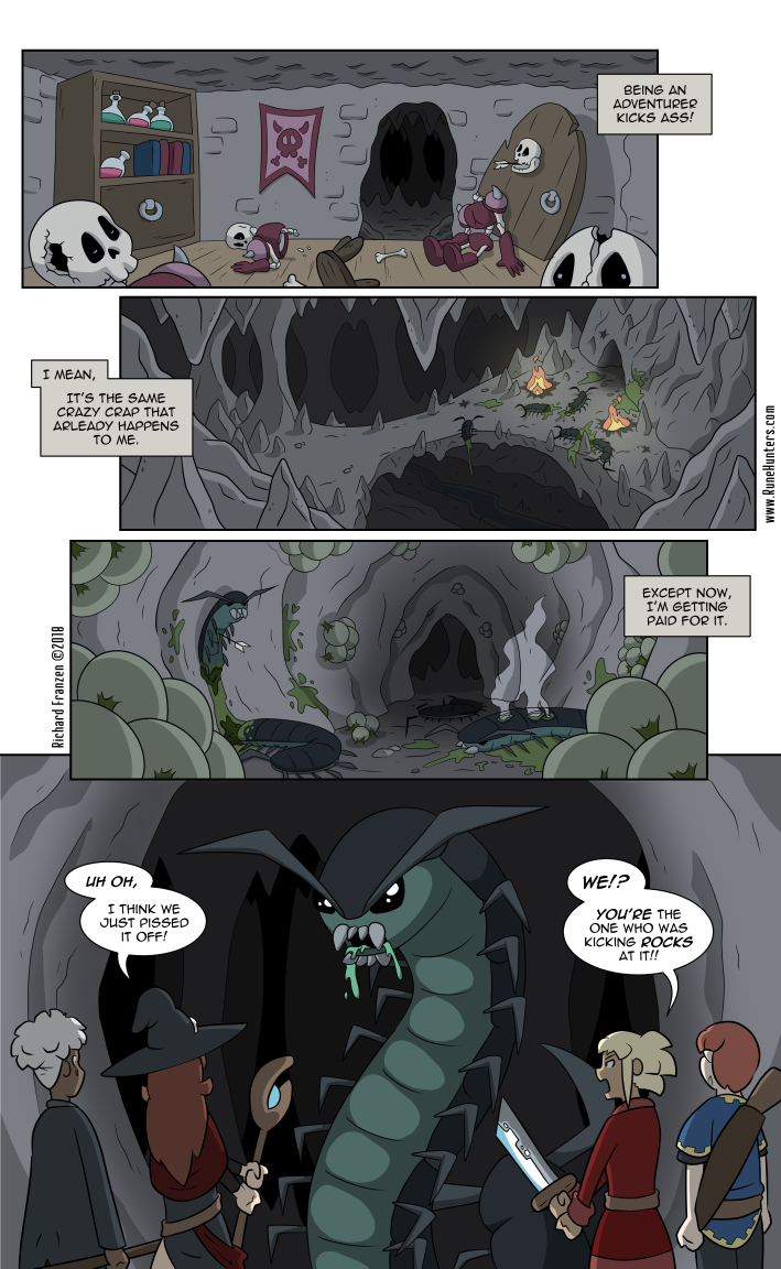 Rune Hunters – Chapter 19 Page 1