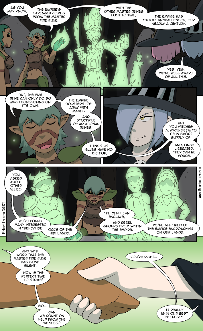 Rune Hunters – Chapter 21 Page 2