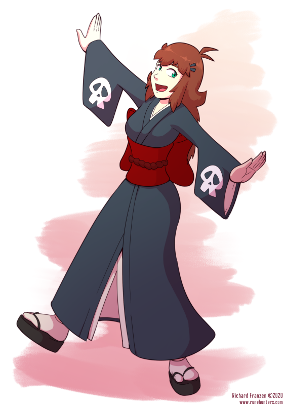Rune Hunters Spring 2020 – Asura's Kimono