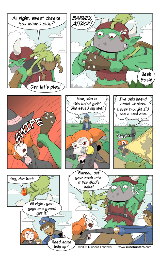 Rune Hunters – Chapter 2 Page 4