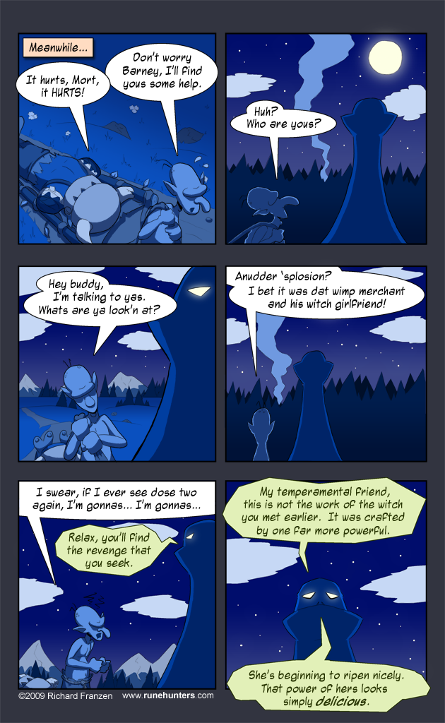 Rune Hunters – Chapter 3 Page 13