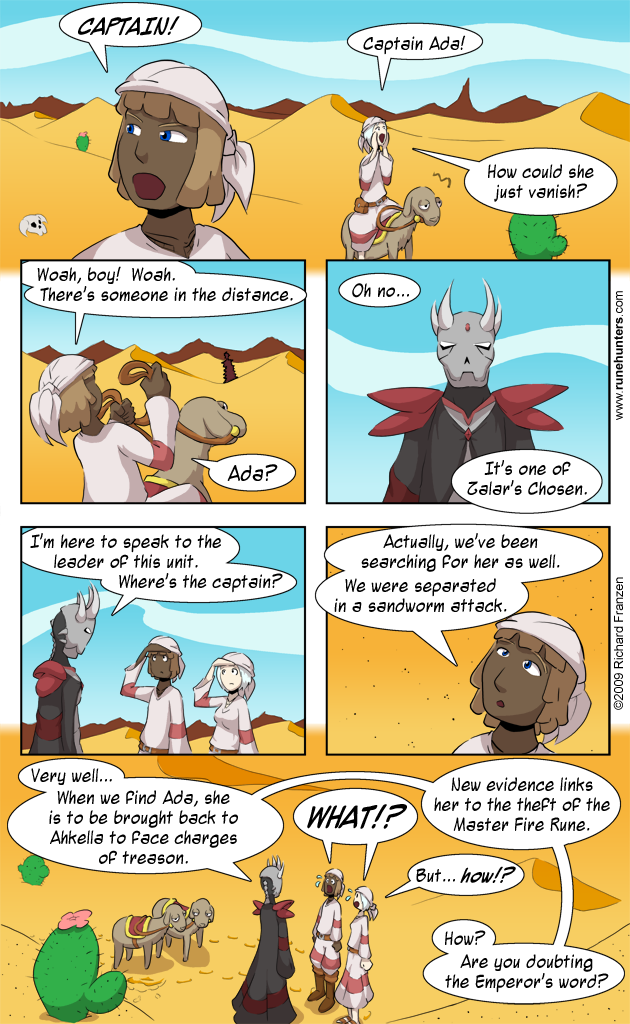 Rune Hunters – Chapter 4 Page 1