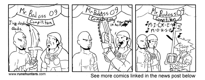 BRU Con Comic Contest 2009 – Comic 1