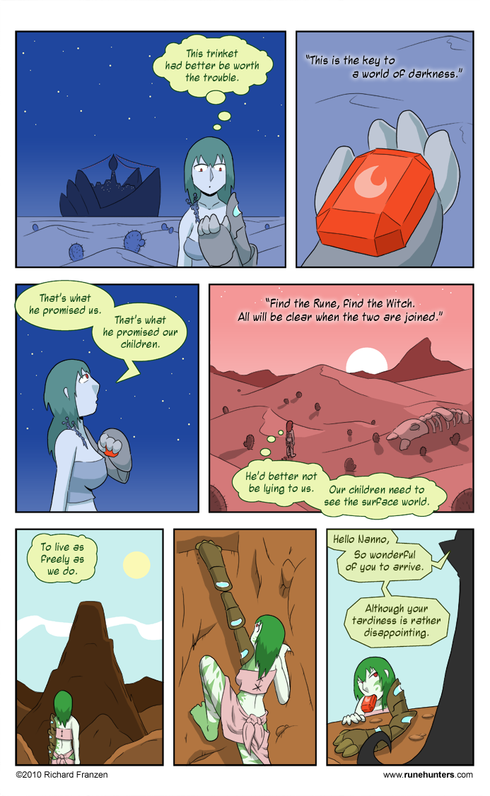 Rune Hunters – Chapter 5 Page 11