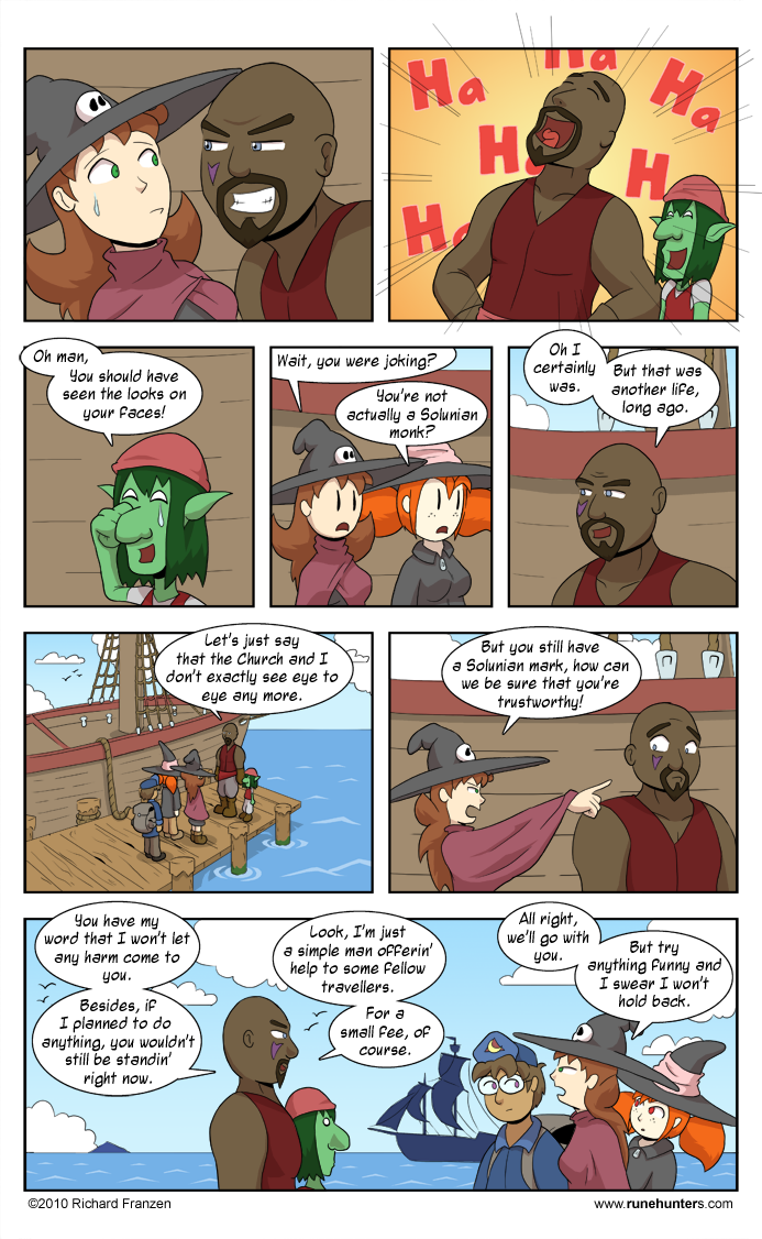 Rune Hunters – Chapter 6 Page 5