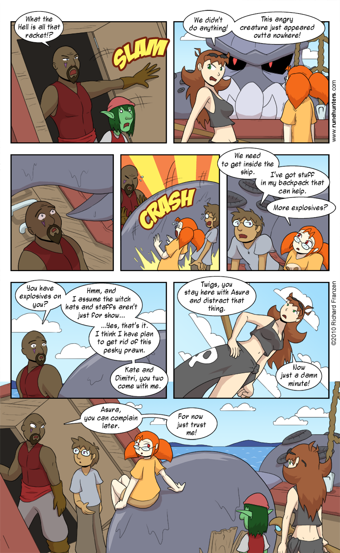 Rune Hunters – Chapter 6 Page 9
