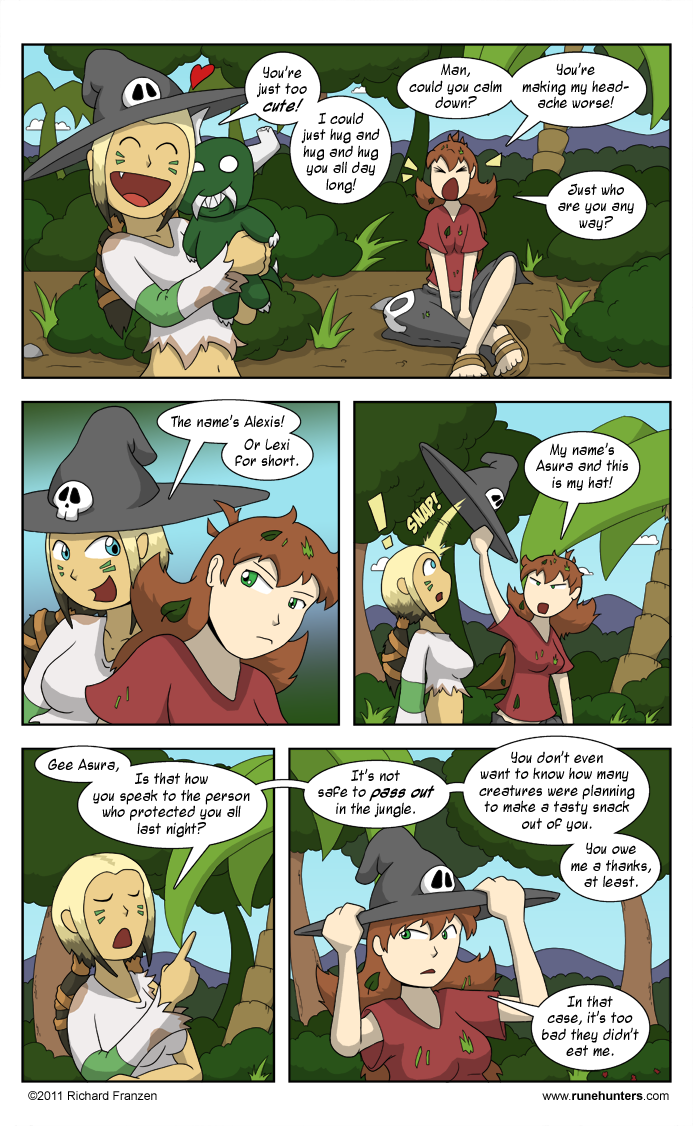 Rune Hunters – Chapter 8 Page 12