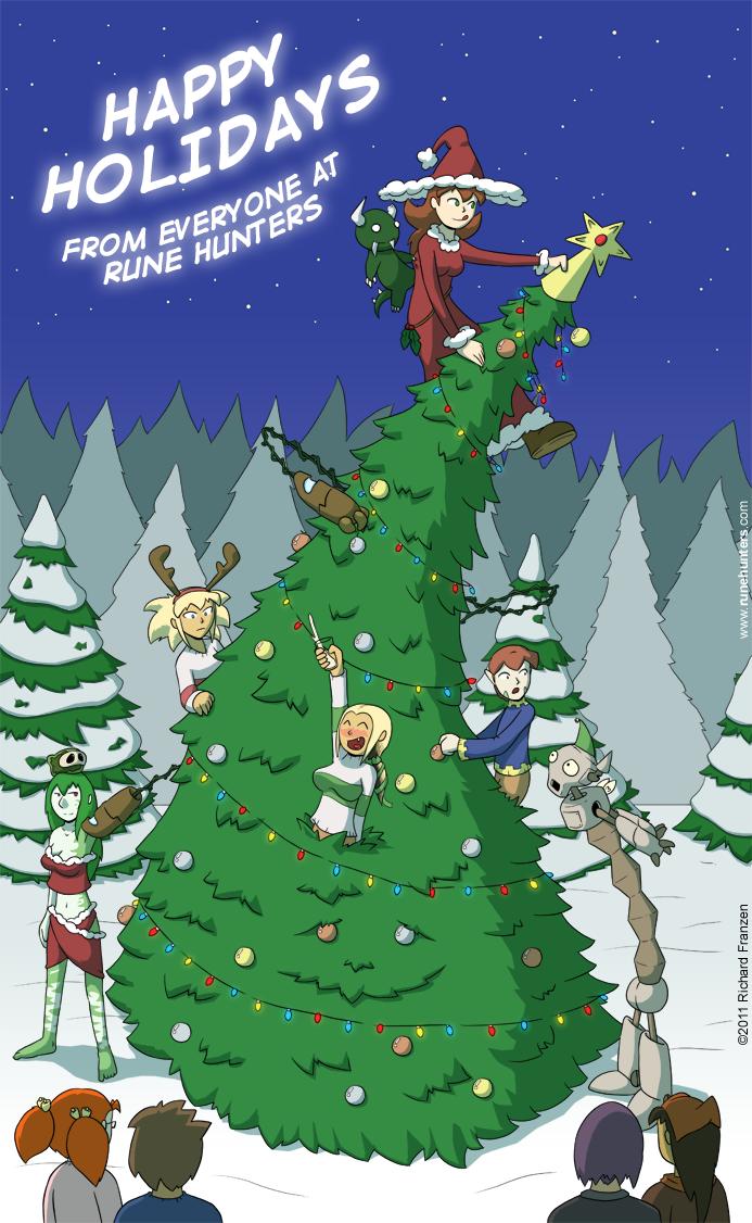 A Rune Hunters Holiday – 2011