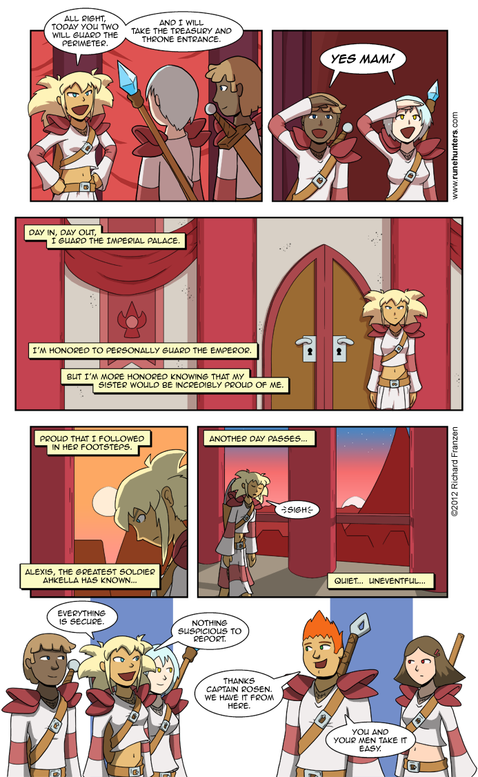 Rune Hunters – Chapter 0 Page 5