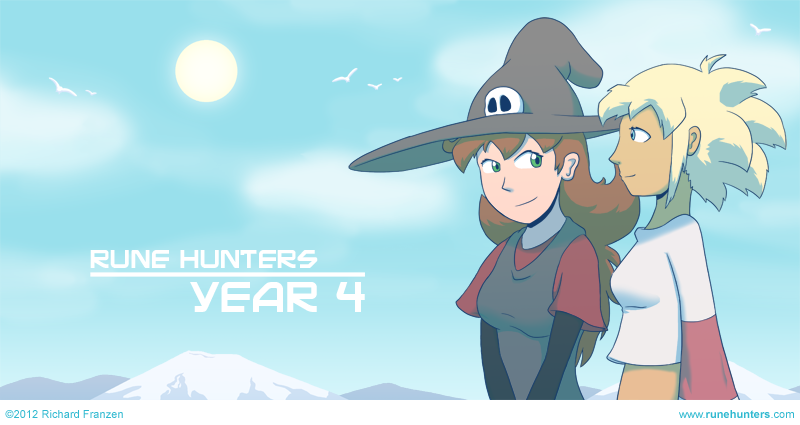 Rune Hunters – 4th Year Anniversary