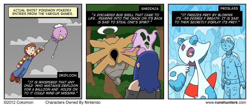 Ghost Pokemon Are Horrifying – Part 1