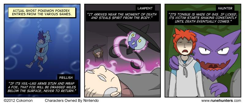 Ghost Pokemon Are Horrifying – Part 2