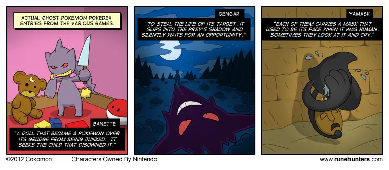 Ghost Pokemon Are Horrifying – Part 3