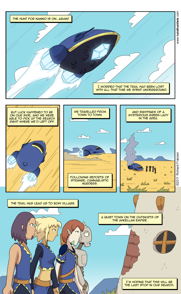 Rune Hunters – Chapter 9 Page 1