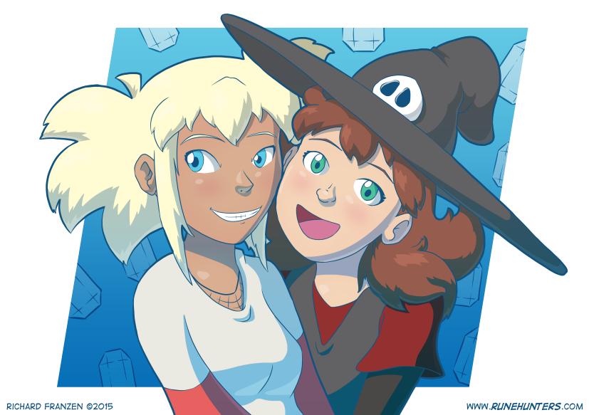 Rune Hunters – Ada and Asura