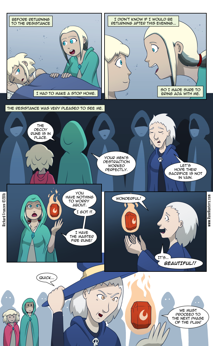 Rune Hunters – Chapter 13 Page 9