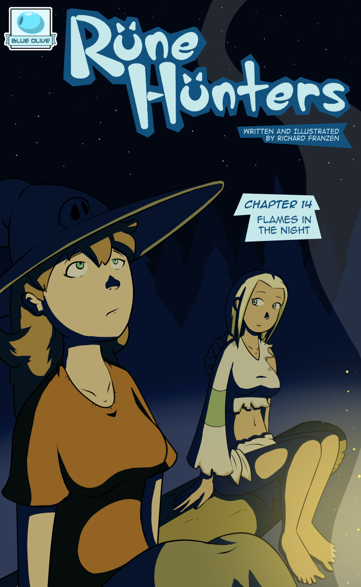 Rune Hunters – Chapter 14 Cover