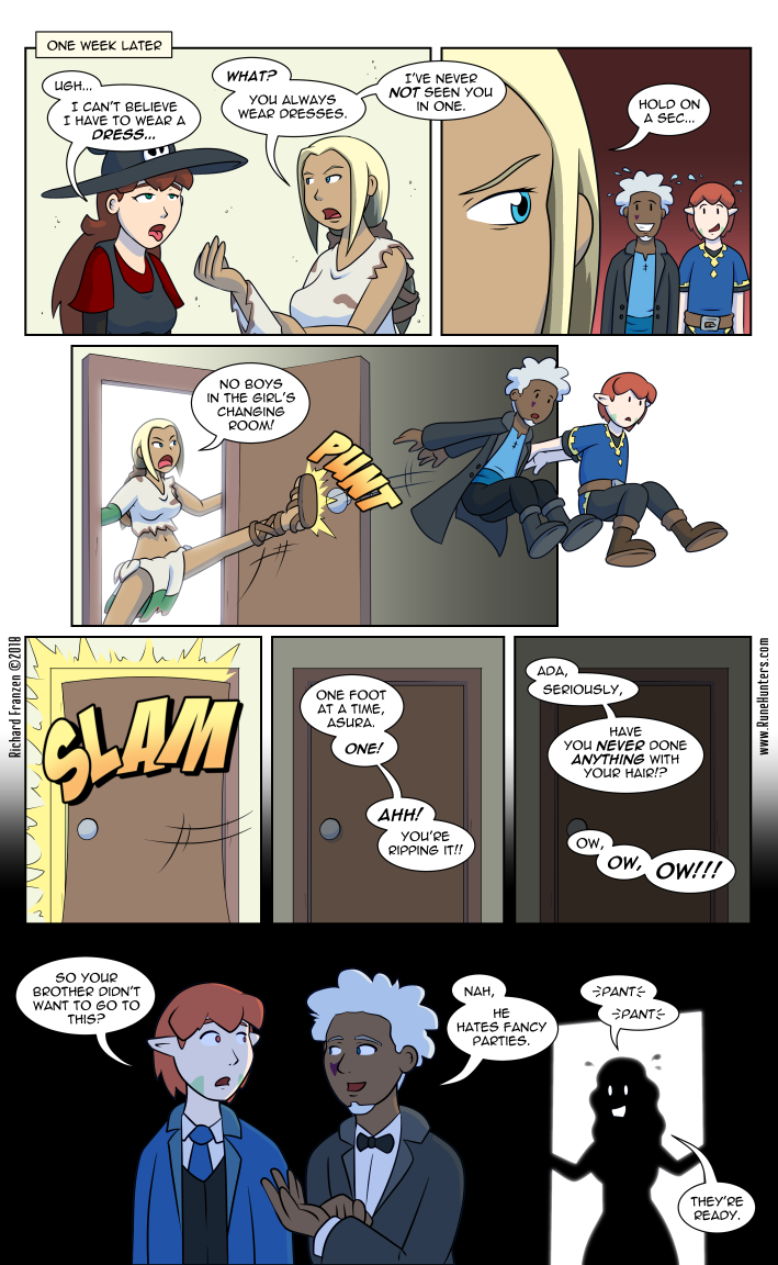 Rune Hunters – Chapter 17 Page 1