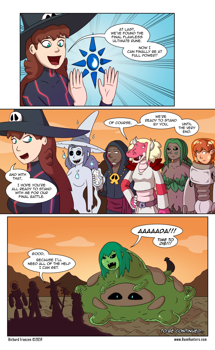 Rune Hunters – Chapter 141 Page 14