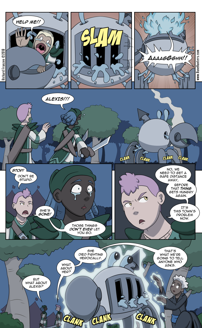Rune Hunters – Chapter 18 Page 9