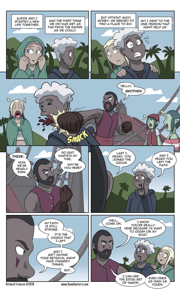 Rune Hunters – Chapter 18 Page 11