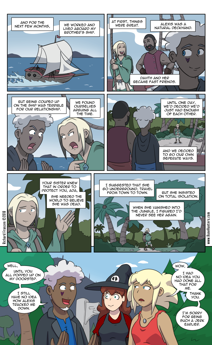 Rune Hunters – Chapter 18 Page 12