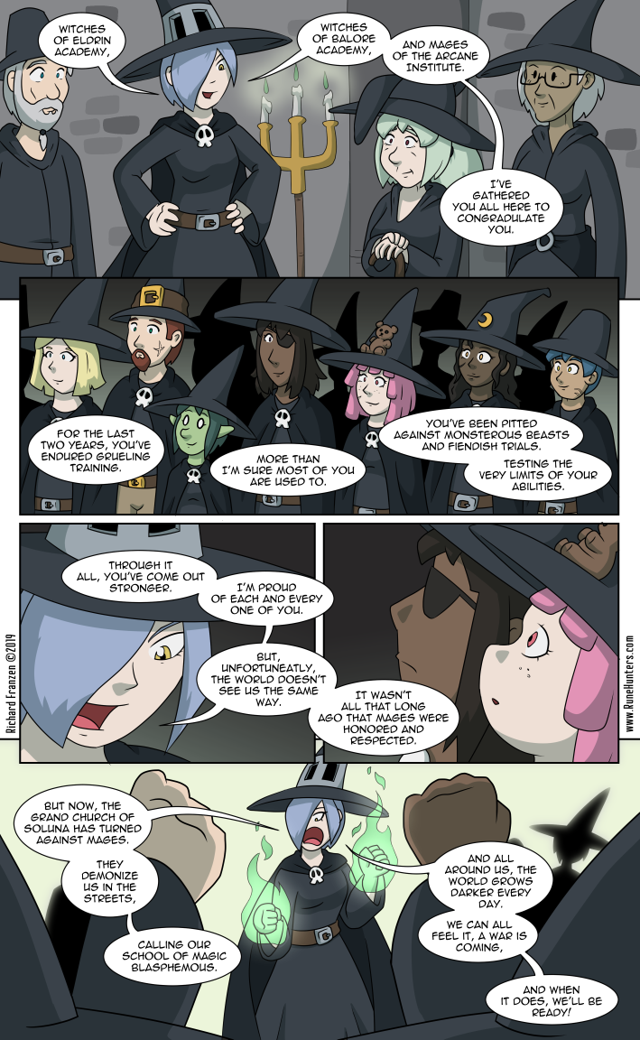 Rune Hunters – Chapter 19 Page 13