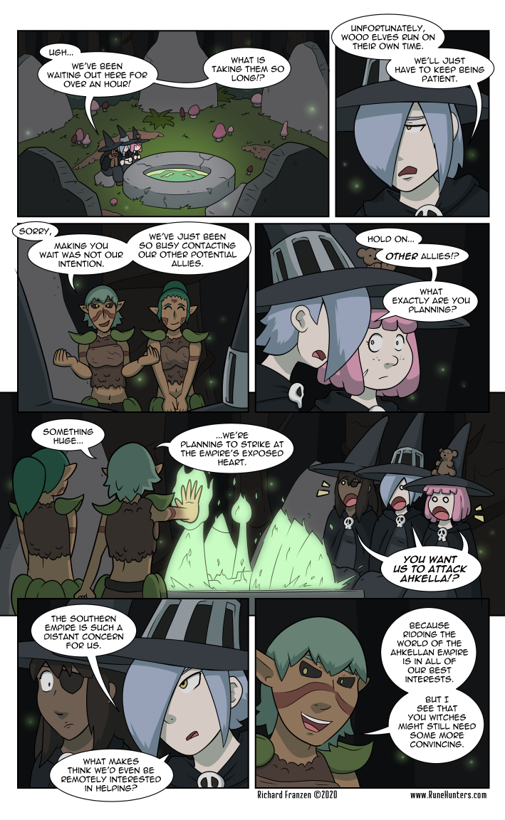 Rune Hunters – Chapter 21 Page 1