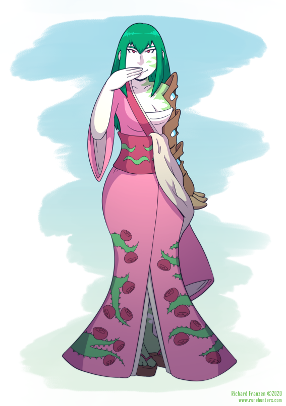 Rune Hunters Spring 2020 – Nanno's Kimono