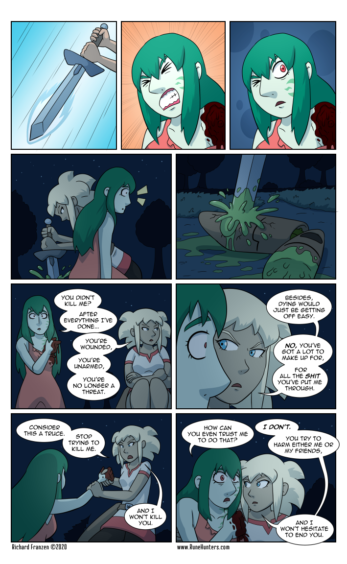 Rune Hunters – Chapter 22 Page 14